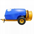 fruit tree use Tractor traciler six cylinder diaphragm pump power sprayer