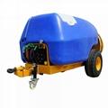 fruit tree use Tractor traciler six cylinder diaphragm pump power sprayer 4