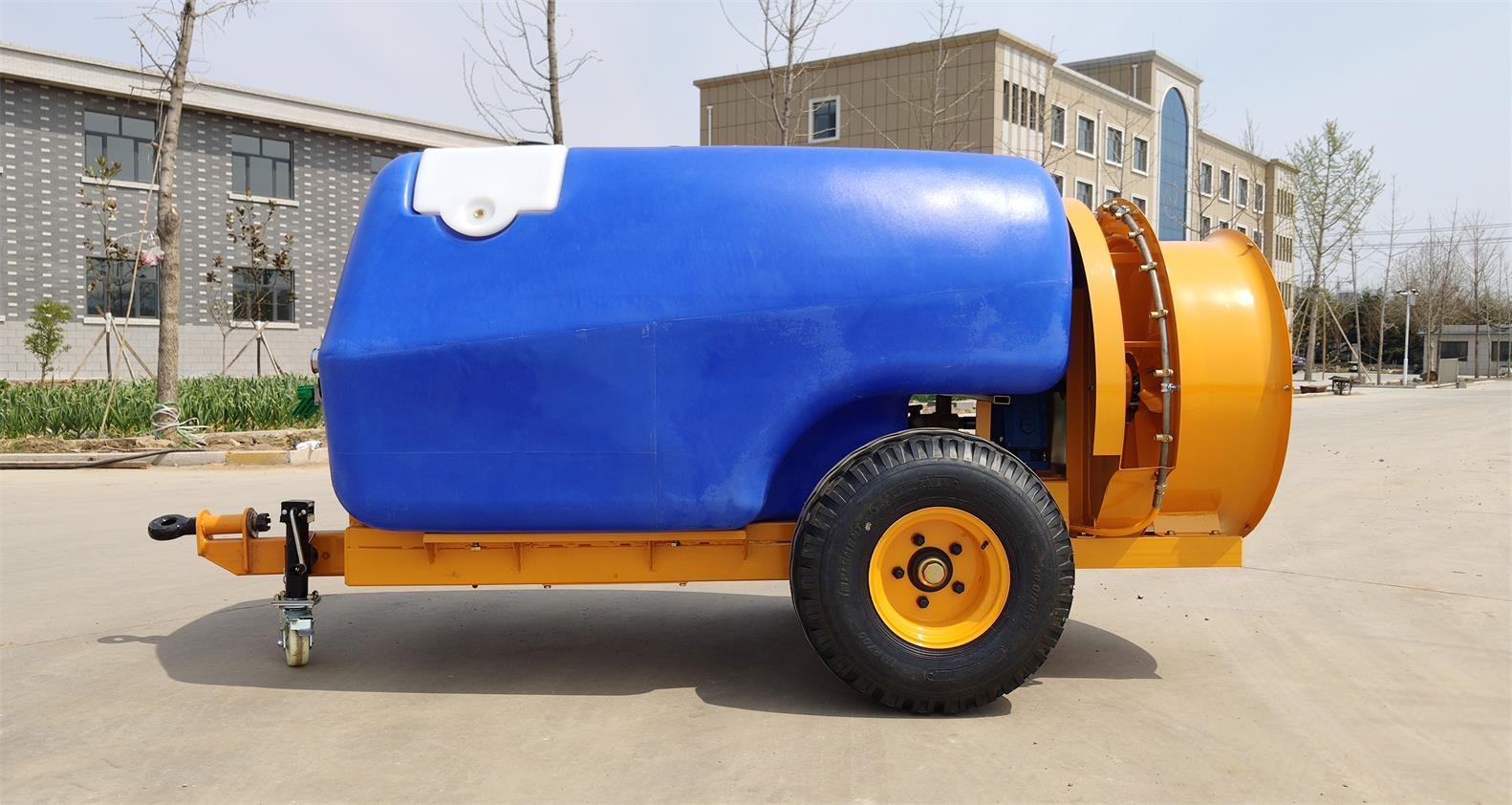 fruit tree use Tractor traciler six cylinder diaphragm pump power sprayer 7