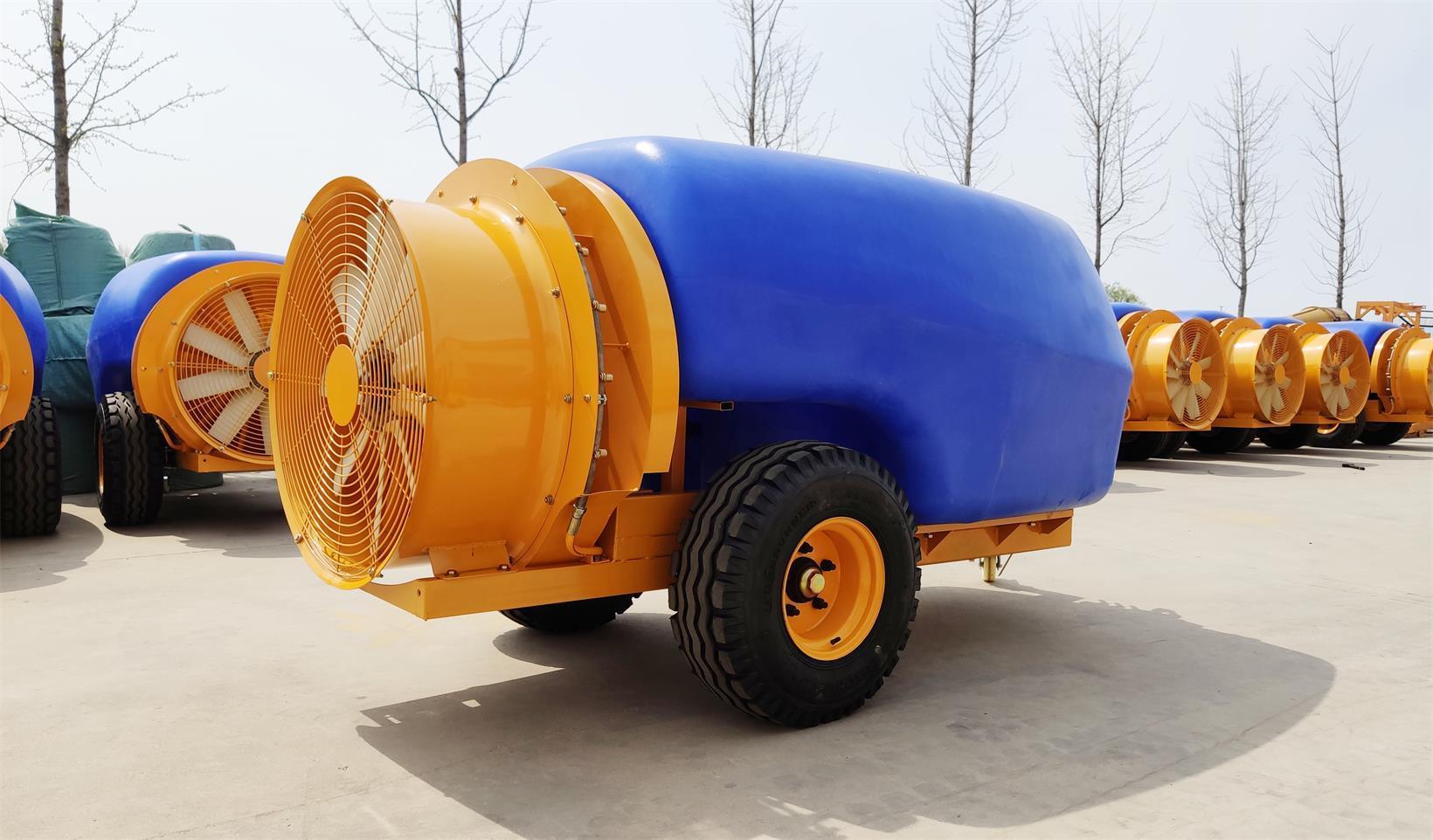 拖拉机牵引式果园风送弥雾机 10