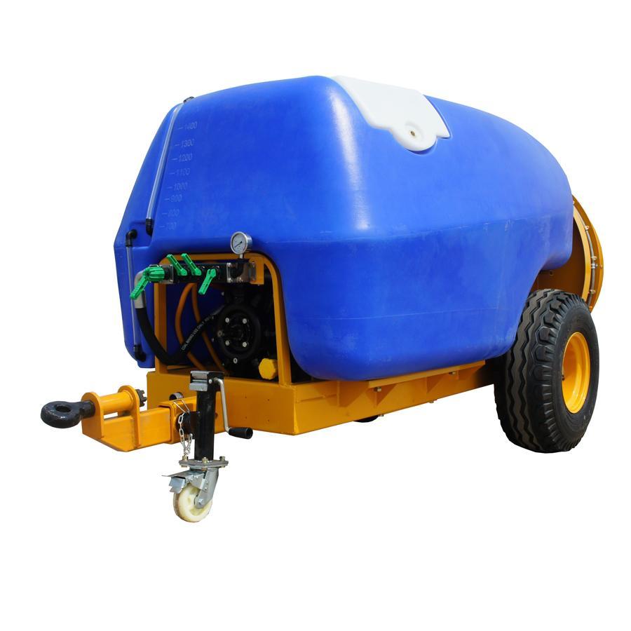 1600L 拖拉机牵引式果园风送打药机 6