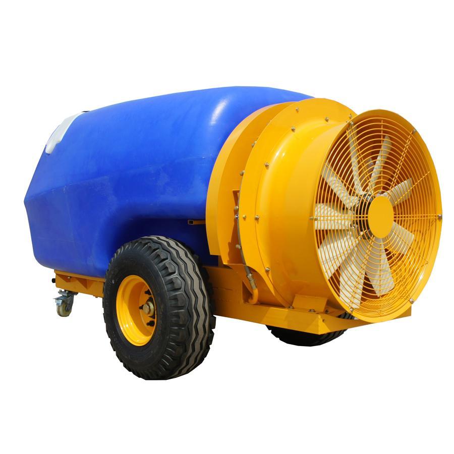 1600L 拖拉机牵引式果园风送打药机 4
