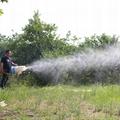 手持式果园风送汽油透雾机