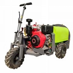 柴油轮式果园风送迷雾打药机