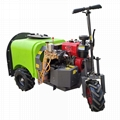 three wheel type Plastic Material mist blower sprayer