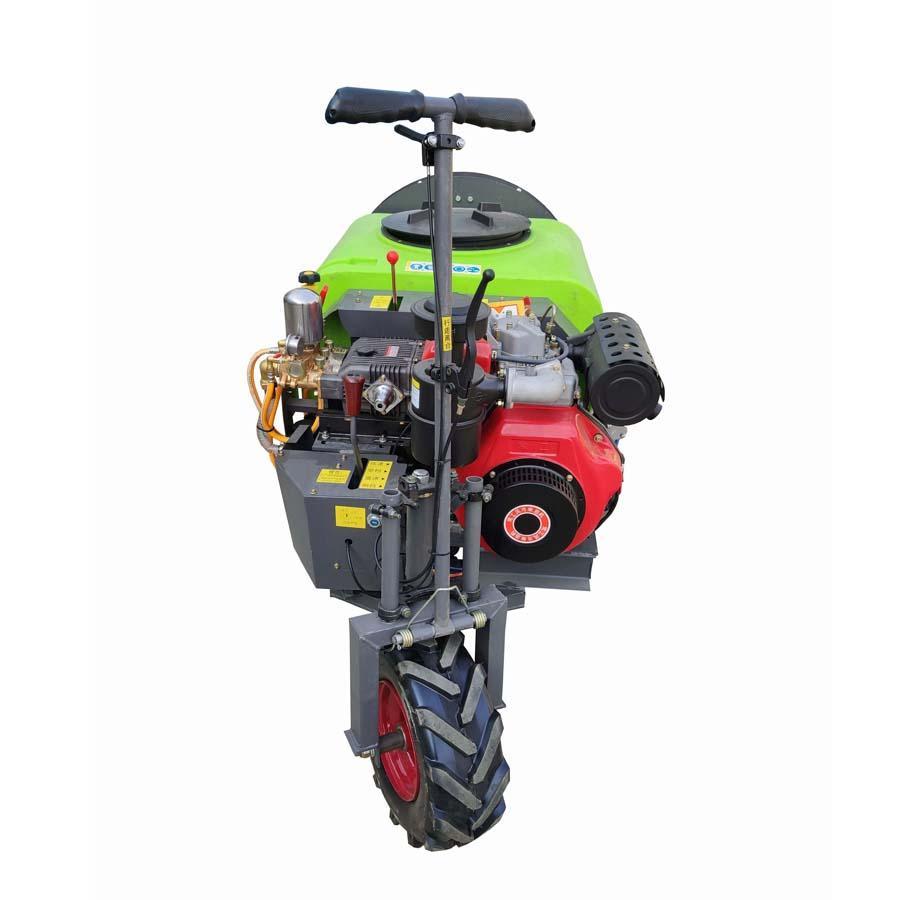 three wheel type Plastic Material mist blower sprayer 2