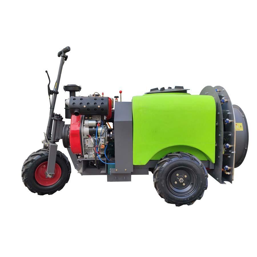 three wheel type Plastic Material mist blower sprayer 3