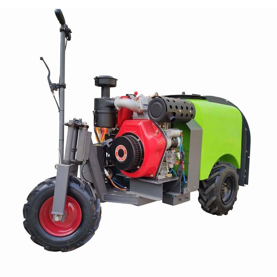 three wheel type Plastic Material mist blower sprayer 4