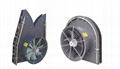 three wheel type Plastic Material mist blower sprayer 8
