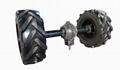 three wheel type Plastic Material mist blower sprayer 9