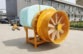 拖拉机果园悬挂式风送弥雾打药机 10