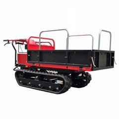 mini tracked truck dumper for garden