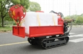 mini Rubber Track Dumper with power sprayer