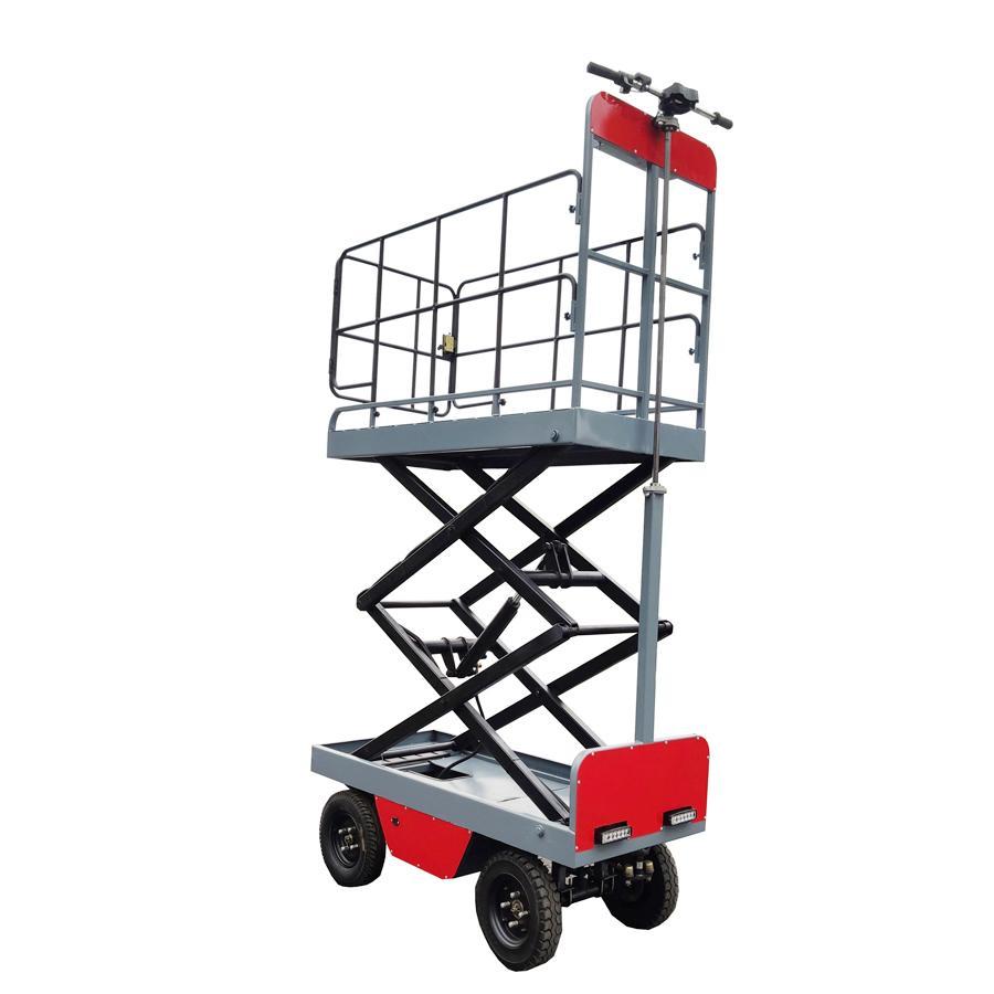 electric greenhouse hydraulic scissor lift trolley 1