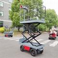 electric greenhouse hydraulic scissor lift trolley 3