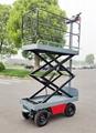 electric greenhouse hydraulic scissor lift trolley 4