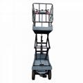 electric greenhouse hydraulic scissor lift trolley 5