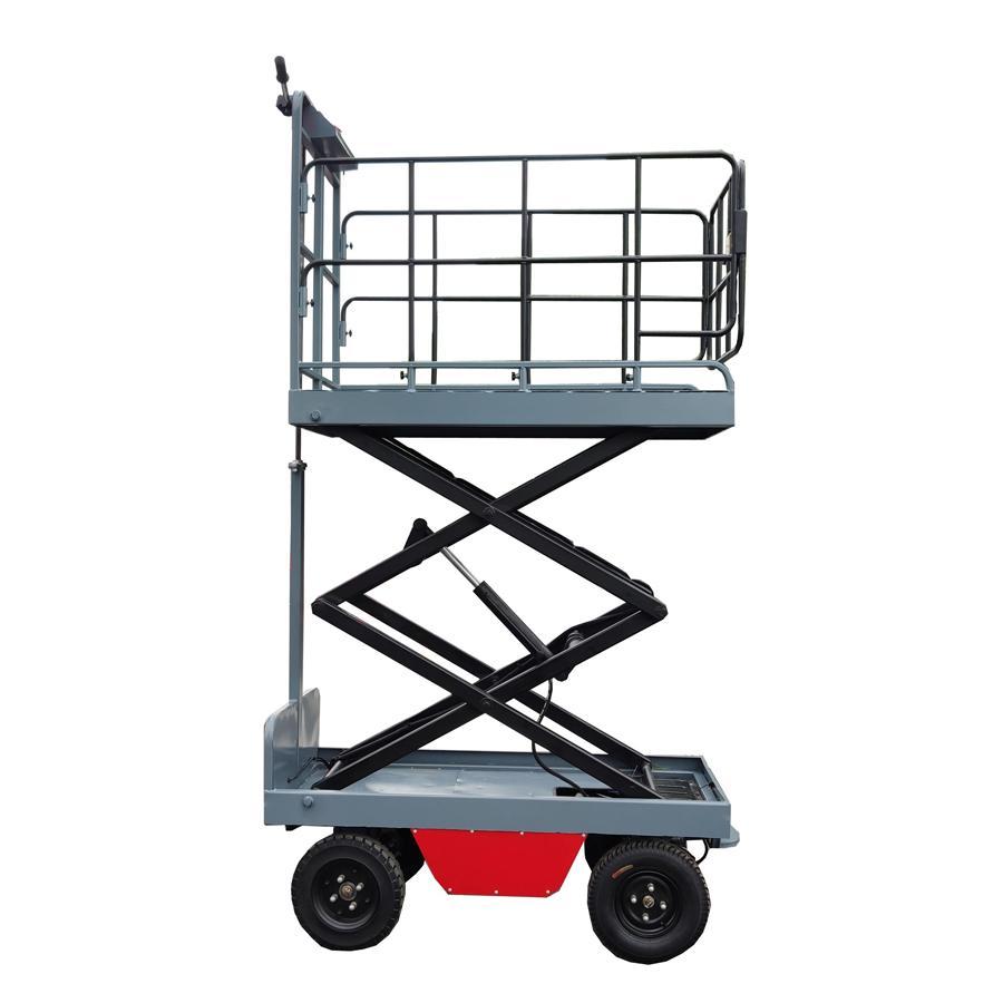 electric greenhouse hydraulic scissor lift trolley 6