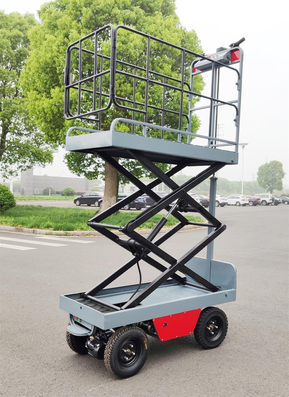 greenhouse hydraulic scissor lift  work platform 4