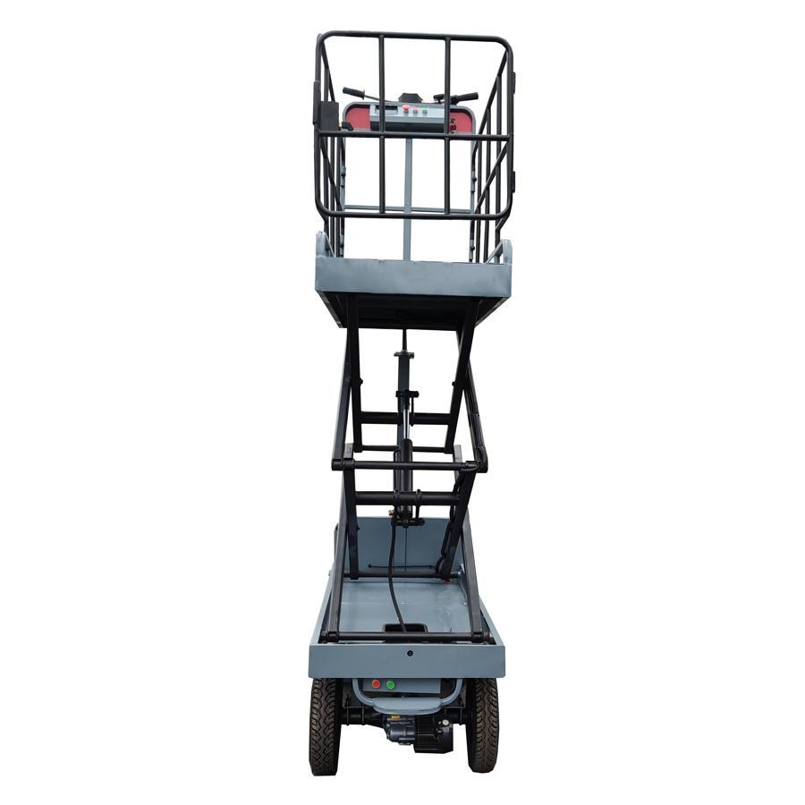 greenhouse hydraulic scissor lift  work platform 5