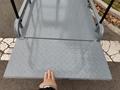 greenhouse hydraulic scissor lift  work platform 8