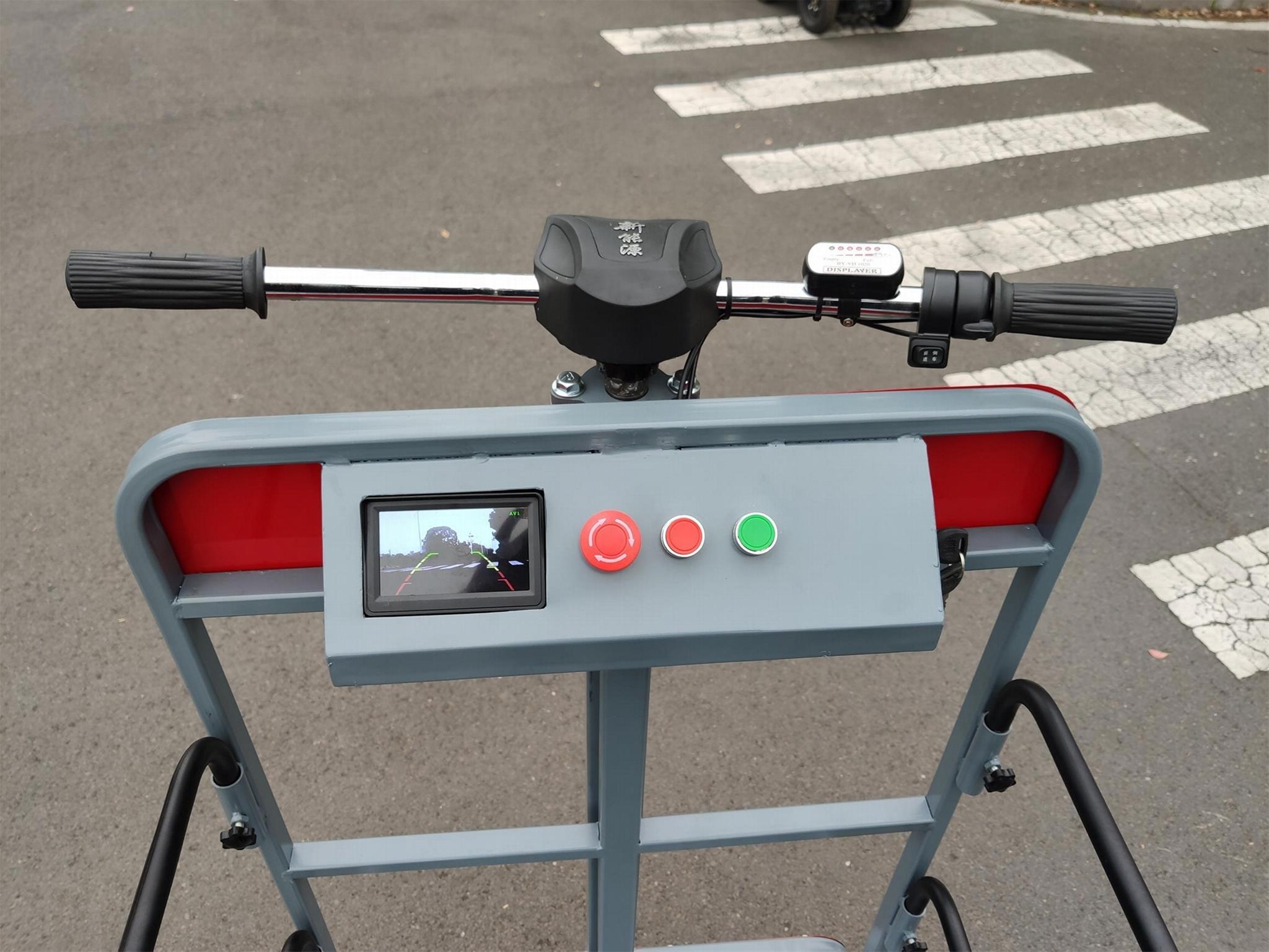 溫室大棚電動液壓昇降作業採摘工作平台 10