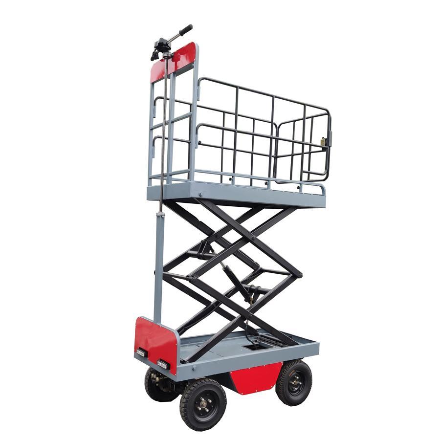 溫室大棚電動液壓昇降作業採摘工作平台 2