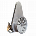 ATV mounted garden air-assisted sprayer with fan tower 7