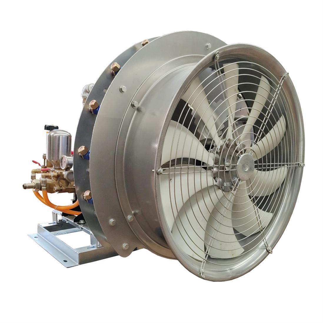 果園柴油車載風送迷霧噴藥機 1