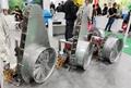 ATV trailer type garden air balst sprayer