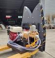 ATV trailer garden sprayer