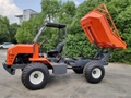 Palm Garden 4WD Articulated Transport Tractor with lift container