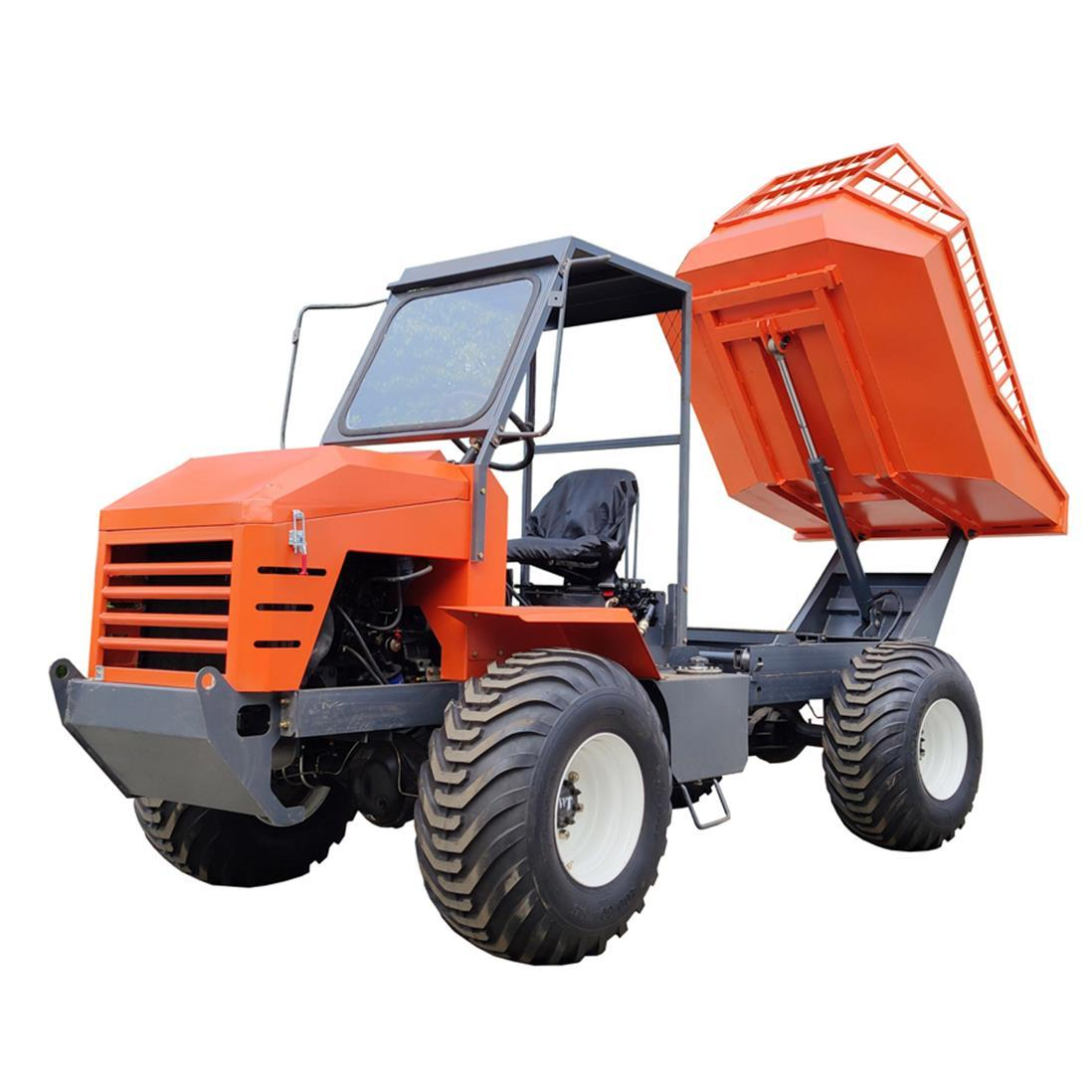 High Lifting container 4WD Palm Oil Tractor 1