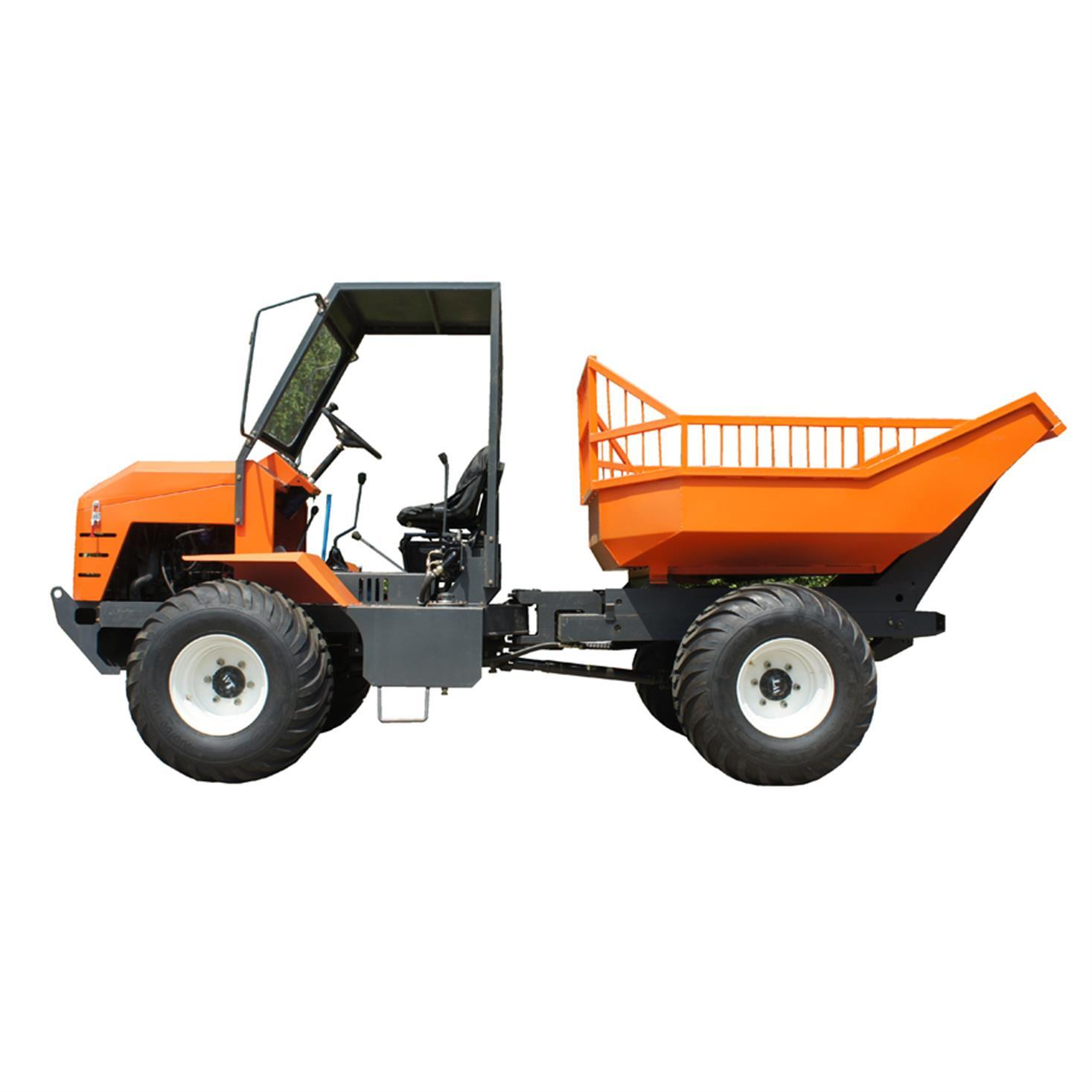 High Lifting container 4WD Palm Oil Tractor 2