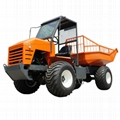 High Lifting container 4WD Palm Oil Tractor 4