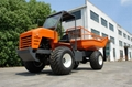 High Lifting container 4WD Palm Oil Tractor 7