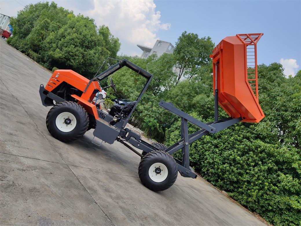 High Lifting container 4WD Palm Oil Tractor 8