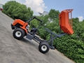 High Lifting container 4WD Palm Oil Tractor