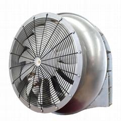 果園車載牽引風送噴藥機系統