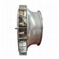 Tractor suspension / traction pneumatic garden sprayer system