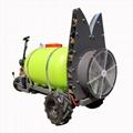 orchard mist blower sprayer system