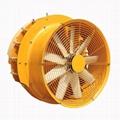 果園牽引式風送噴霧機系統