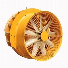 果园牵引式风送喷雾机系统