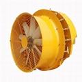 果园风送喷雾机风机系统