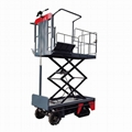 greenhouse harvest trolley with electric track 1