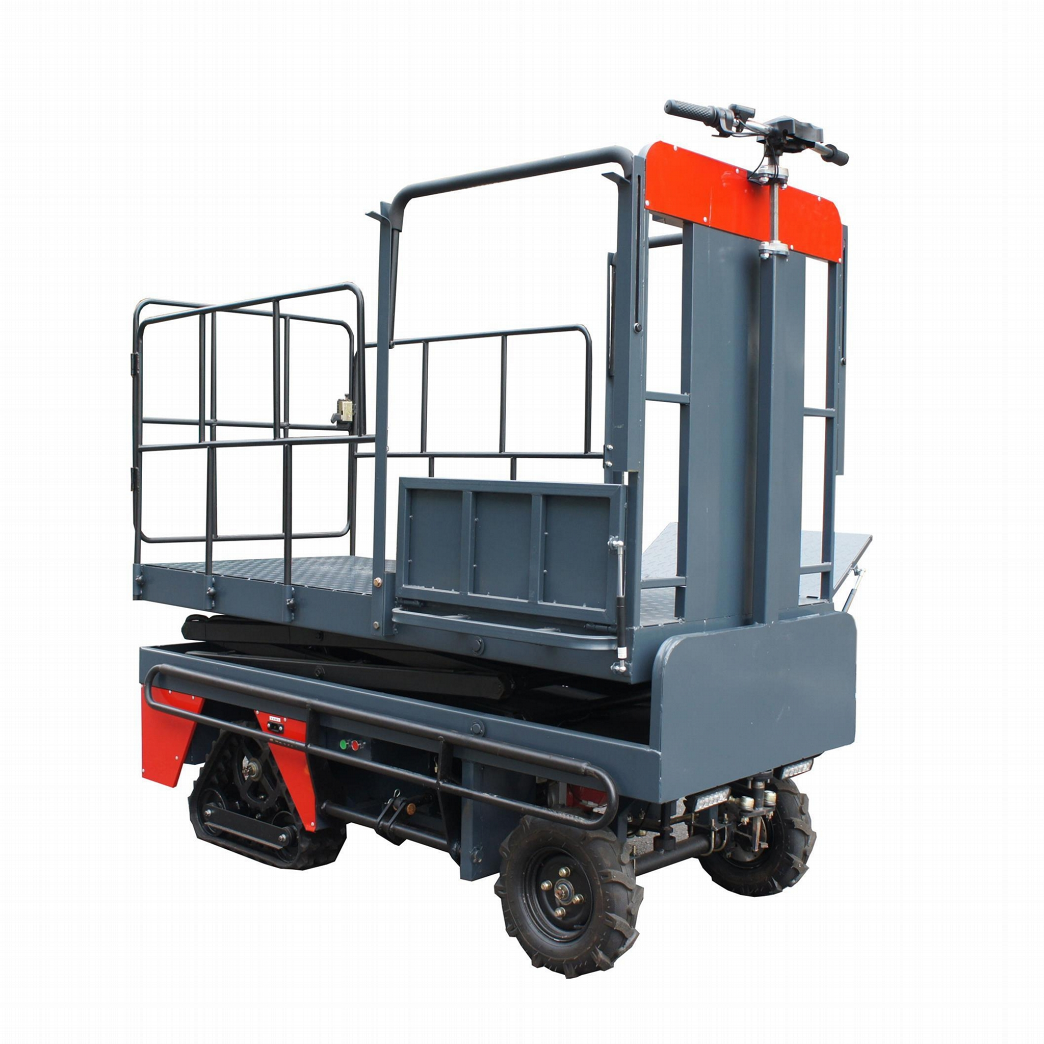 greenhouse harvest trolley with electric track 5