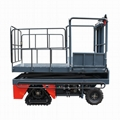 greenhouse harvest trolley with electric track 6