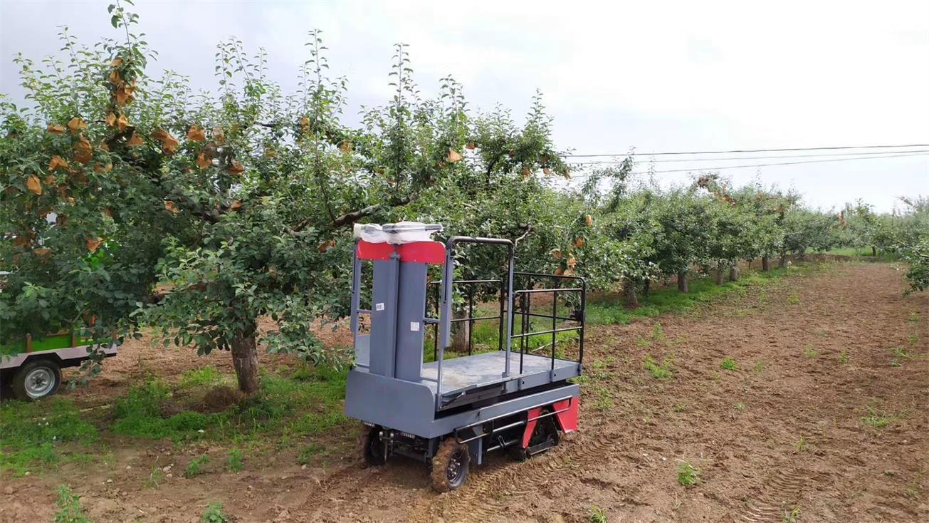 温室大棚电动液压升降作业采摘工作平台 12