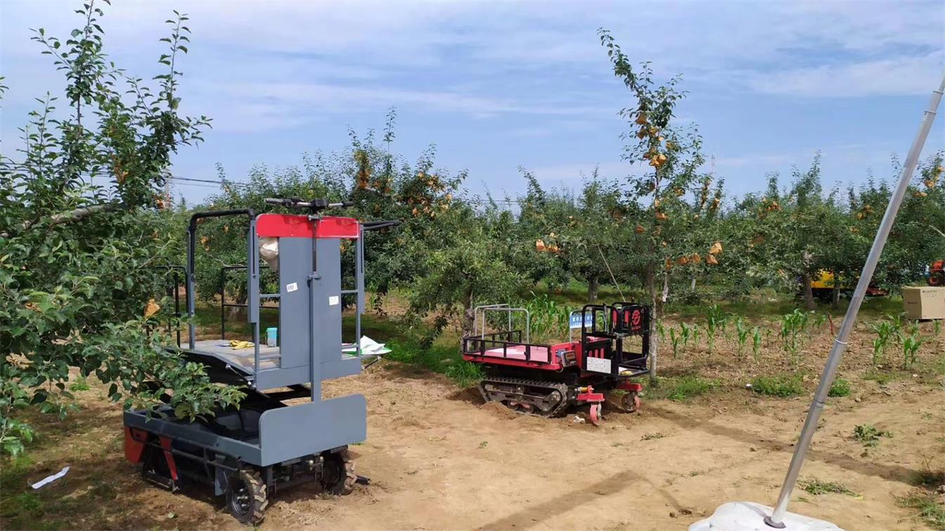 greenhouse harvest trolley with electric track 11