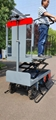 greenhouse harvest trolley with electric track 10
